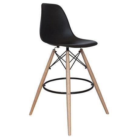 Lot de 2 chaises de bar cosy noir achat vente chaise cdiscount - Cdiscount chaise de bar ...