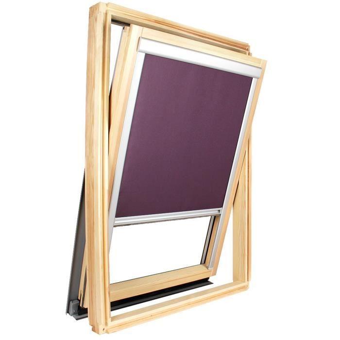 Store occultant pour fen tre de toit compatible velux for Prix fenetre de toit velux