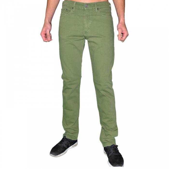 levis jean homme 513 slim straight fit green. Black Bedroom Furniture Sets. Home Design Ideas