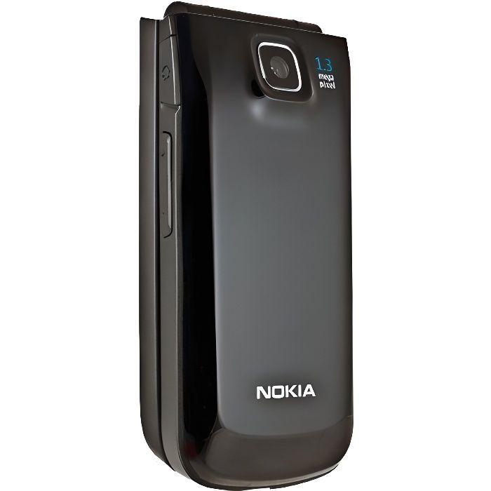 nokia 2720 noir debloque achat t l phone portable pas. Black Bedroom Furniture Sets. Home Design Ideas