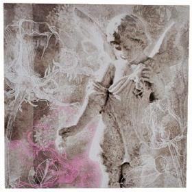 Tableau cadre toile ange angelot 40 x 40 cm achat vente tableau t - Cadres tableaux pas chers ...