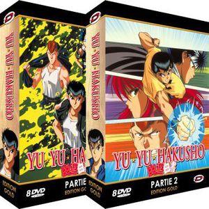 DVD MANGA DVD Intégrale Yu-yu hakusho
