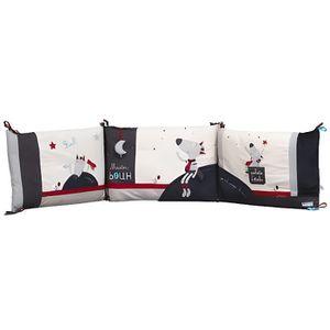 tour de lit sauthon achat vente tour de lit sauthon pas cher cdiscount. Black Bedroom Furniture Sets. Home Design Ideas