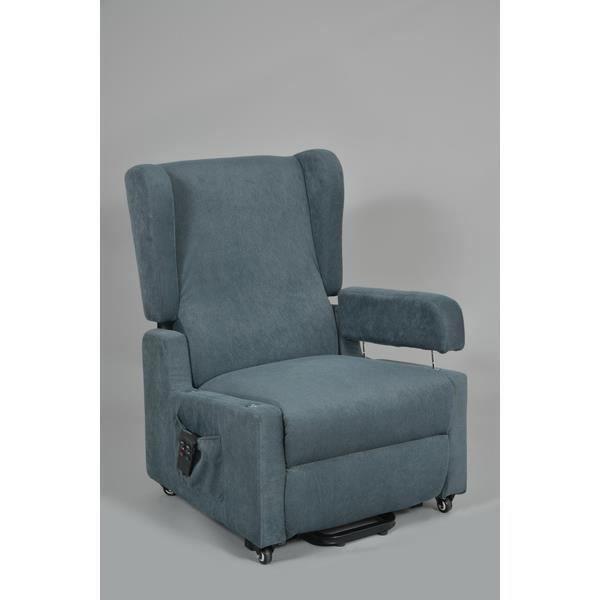 fauteuil releveur 1 moteur kairouan gris achat vente fauteuil gris cdiscount. Black Bedroom Furniture Sets. Home Design Ideas