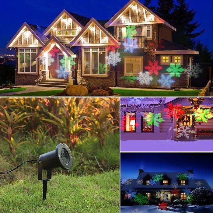 Excerando lampe led ext rieur int rieur lampe d 39 ambiance for Projecteur exterieur noel