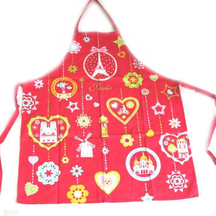 Les tr sors de lily m4556 tablier cr ateur paris - Tablier de cuisine paris ...