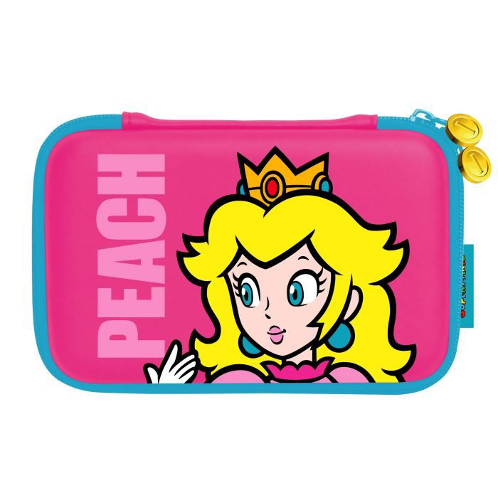 PACK ACCESSOIRE Pochette de Transport Rigide Peach 3DS XL