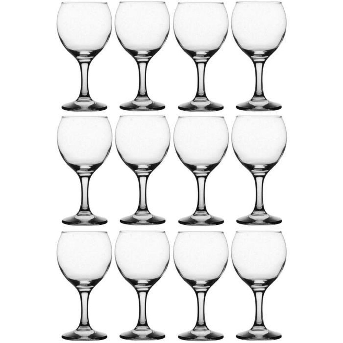 set lot 12 verre vin ballon sculpt 19 5cl contenance ideal reception repas achat vente. Black Bedroom Furniture Sets. Home Design Ideas
