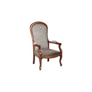 fauteuil style voltaire achat vente fauteuil style voltaire pas cher cdiscount. Black Bedroom Furniture Sets. Home Design Ideas
