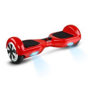HOVERBOARD Hoverboard electrique rouge 6,5 pouces