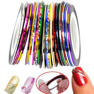 LINER - STRIPER lot de 10 stickers ongles stripping tape Nail art