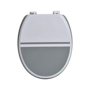 cuvette wc gris achat vente cuvette wc gris pas cher cdiscount. Black Bedroom Furniture Sets. Home Design Ideas