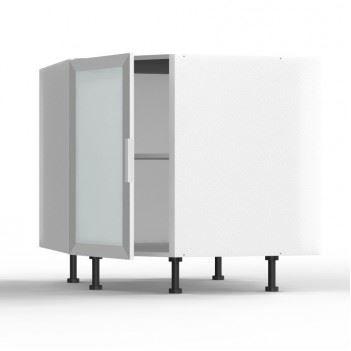 meuble bas d'angle idea 1 porte vitrée avec cad? - achat / vente ... - Meuble Bas D Angle Cuisine
