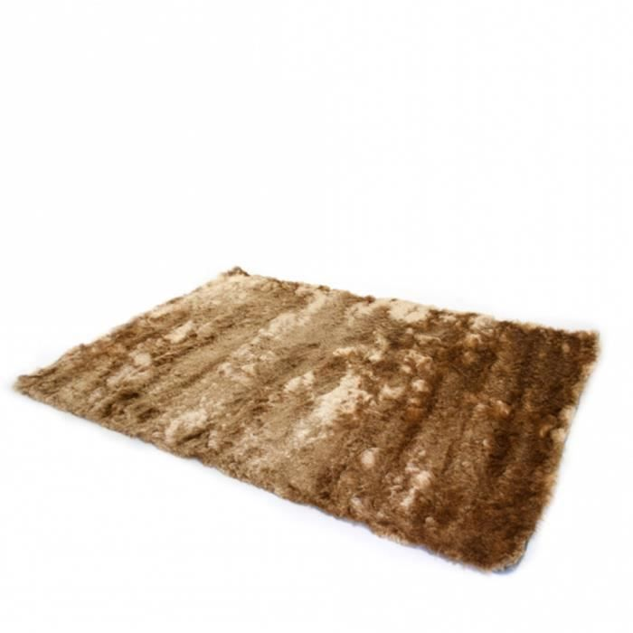 tapis shaggy 160 x 230 beige achat vente tapis cdiscount. Black Bedroom Furniture Sets. Home Design Ideas