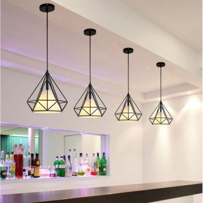luminaire pour bar achat vente luminaire pour bar pas cher les soldes sur cdiscount. Black Bedroom Furniture Sets. Home Design Ideas