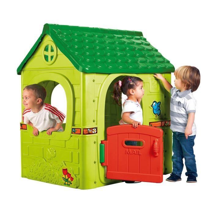 Feber maison d 39 ext rieur fantasy house achat vente for Maison jouet exterieur