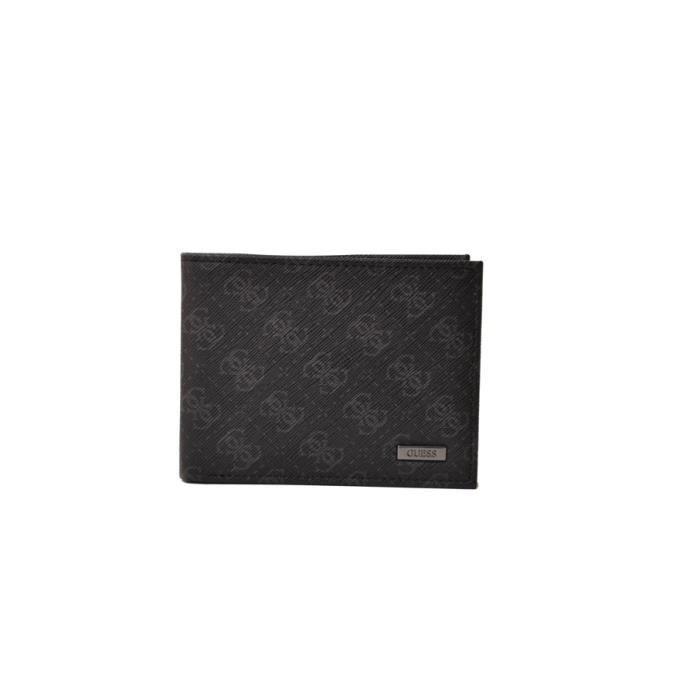 Porte cartes et portefeuille homme guess noir achat vente porte carte 0026217468570 cdiscount - Portefeuille porte carte homme ...