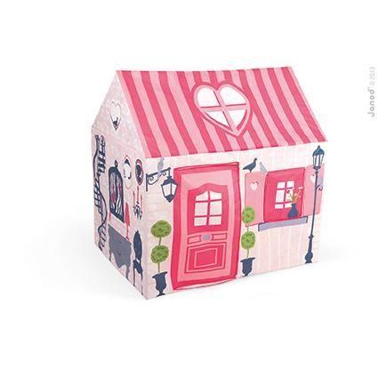 Maison en tissu mademoiselle janod achat vente tente for Maison en tissu enfant