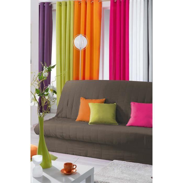 housse de clic clac taupe marron achat vente housse de canap cdiscount. Black Bedroom Furniture Sets. Home Design Ideas