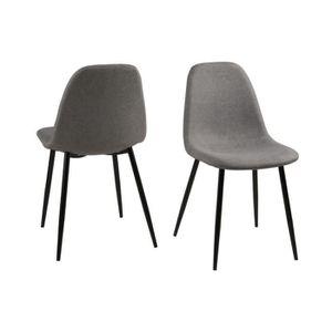 chaise en tissus achat vente chaise en tissus pas cher les soldes sur cdiscount cdiscount. Black Bedroom Furniture Sets. Home Design Ideas