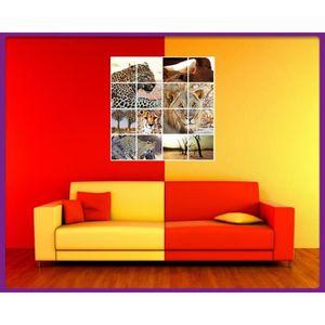tableau safari achat vente tableau safari pas cher cdiscount. Black Bedroom Furniture Sets. Home Design Ideas