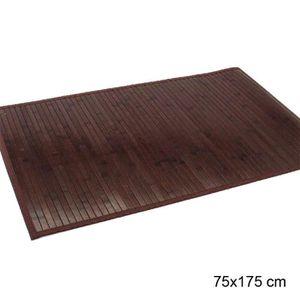 Tapis bambou marron achat vente tapis bambou marron pas cher cdiscount - Tapis bambou pas cher ...