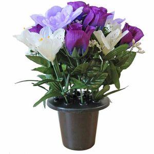 fleurs artificielles lys achat vente fleurs. Black Bedroom Furniture Sets. Home Design Ideas
