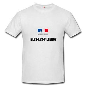 T-SHIRT T-shirt isles les villenoy homme et femme unisex