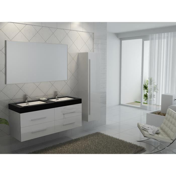 Interougehome ensemble de meuble de salle de bain en for Ensemble meuble salle de bain bois