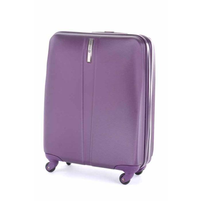 delsey valise cabine rigide schedule 52cm violet achat vente valise bagage delsey valise. Black Bedroom Furniture Sets. Home Design Ideas