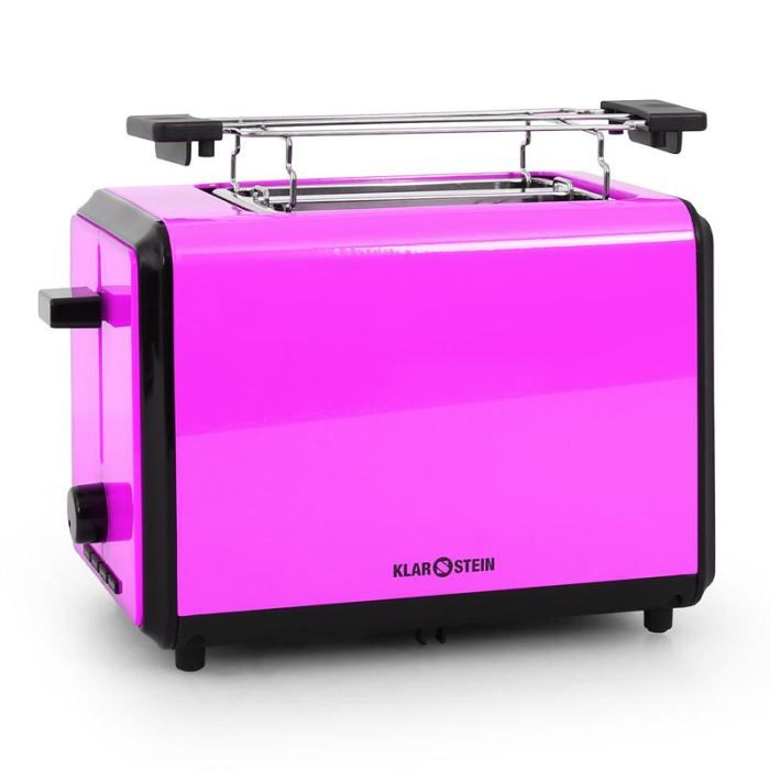bonjour grille pain 2 tranches 800w violet achat vente grille pain toaster cdiscount. Black Bedroom Furniture Sets. Home Design Ideas