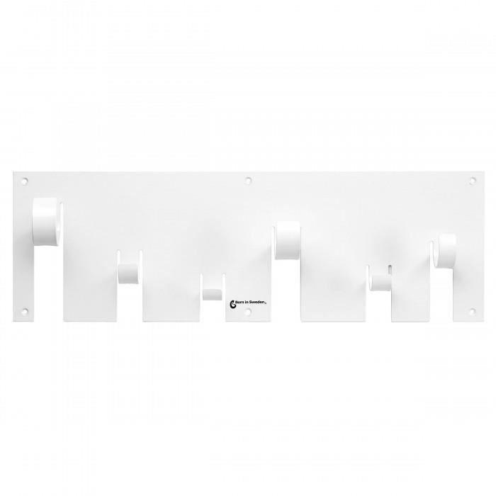 porte manteaux mural coat rack couleur blanc achat. Black Bedroom Furniture Sets. Home Design Ideas