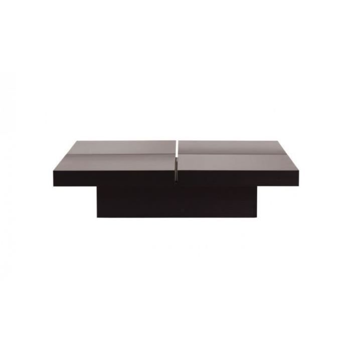Table basse 4 plateaux kyoto finition wenge achat vente table basse tab - Table basse 2 plateaux ...