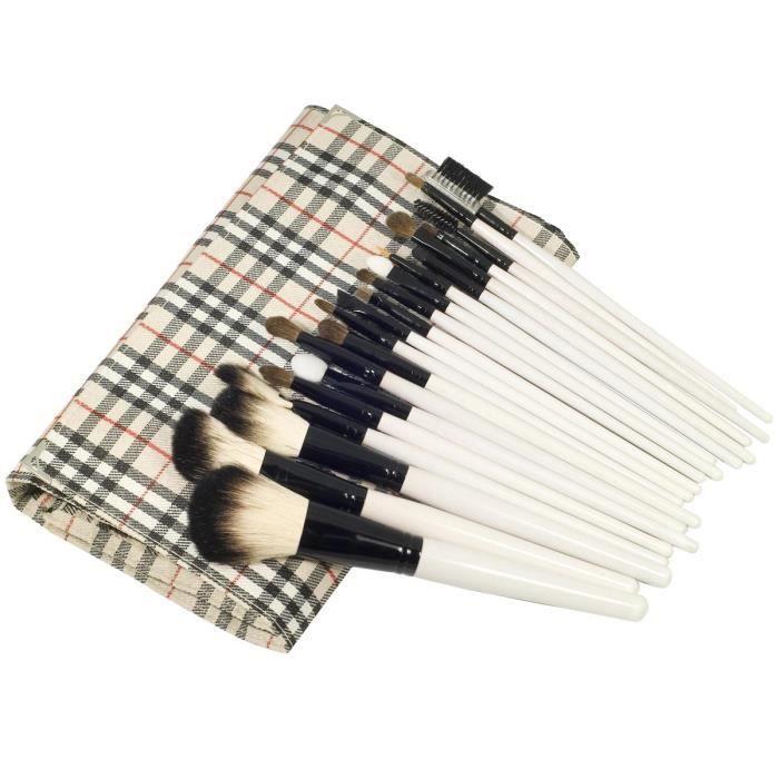 20 pinceaux maquillage accessoires cosm tique kit achat vente fard a joue blush 20. Black Bedroom Furniture Sets. Home Design Ideas
