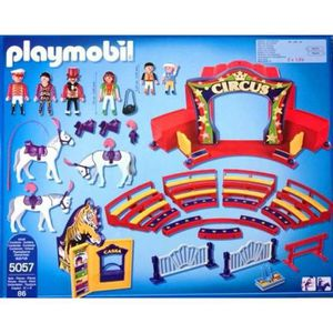 Jouet cirque achat vente jeux et jouets pas chers - Cirque playmobil ...