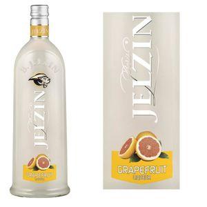 LIQUEUR JELZIN Liqueur de Vodka Grapefruit Pamplemousse 16