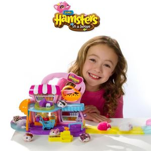 SPIN MASTER Coffret hamsters in a House : le supermarché
