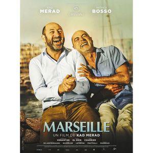AFFICHE Marseille - 2016 - Kad Merad - patrick Bosso - 120