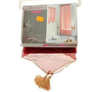 rideaux voilage passe tringle achat vente rideaux voilage passe tringle pas cher cdiscount. Black Bedroom Furniture Sets. Home Design Ideas
