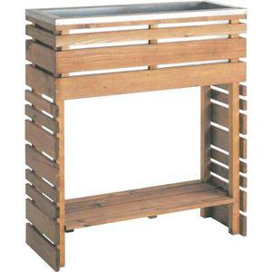 etagere pour pot de fleur achat vente etagere pour pot de fleur pas cher cdiscount. Black Bedroom Furniture Sets. Home Design Ideas