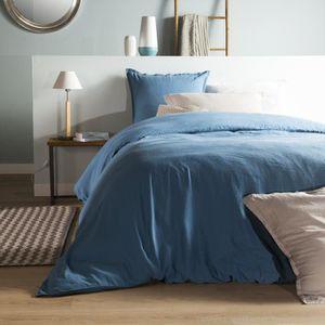 housse de couette mer achat vente housse de couette mer pas cher cdiscount. Black Bedroom Furniture Sets. Home Design Ideas