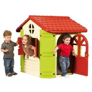 maison plastique pour enfant achat vente maison plastique pour enfant pas cher cdiscount. Black Bedroom Furniture Sets. Home Design Ideas