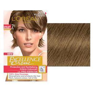 coloration excellence crme de loral blond - Coloration Brun Chocolat L Oral