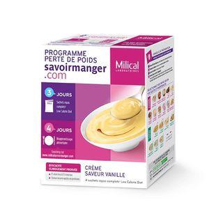 DESSERT MINCEUR Lcd crème saveur vanille 4 sachets