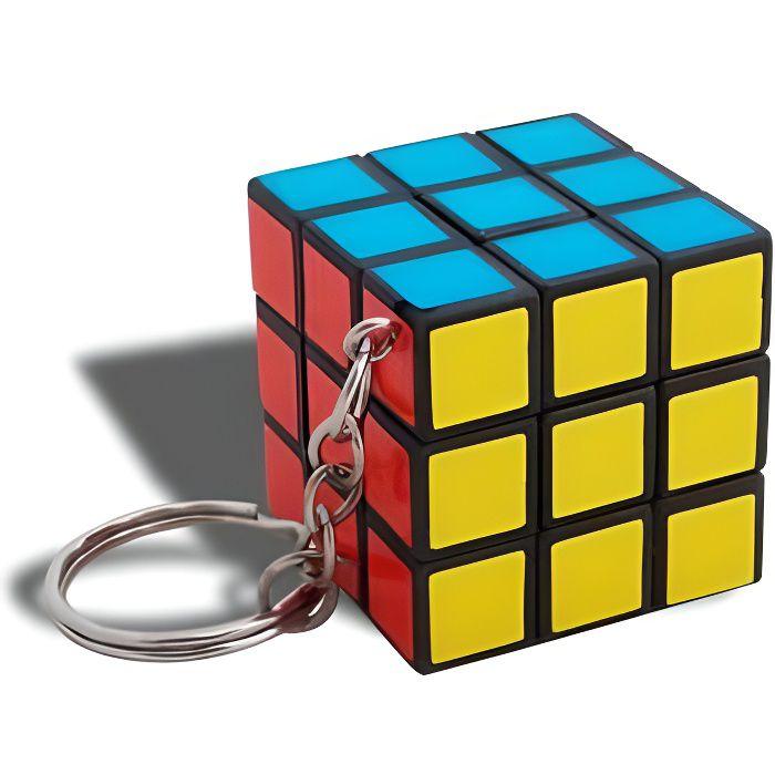 accroche cl s petit rubik 39 s cube achat vente porte. Black Bedroom Furniture Sets. Home Design Ideas