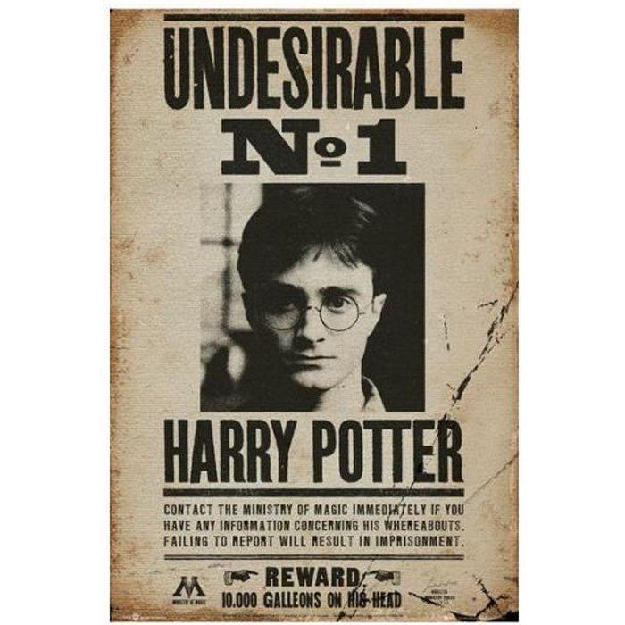 GB oeil Grande affiche indésirable Harry Potter... - Achat / Vente ...