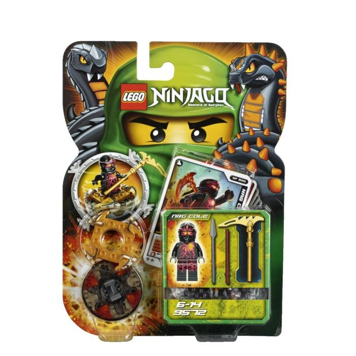 lego ninjago toupies nrg cole achat vente assemblage