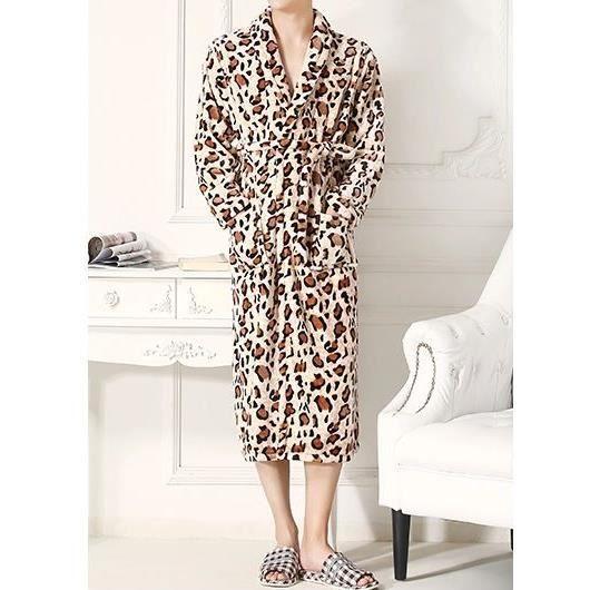 Robe de chambre l opard polaire homme achat vente robe de chambre cdiscount - Achat robe de chambre homme ...