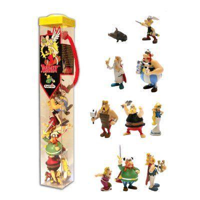 Ast rix et ob lix tubo de 10 figurines achat vente - Personnage asterix et obelix ...