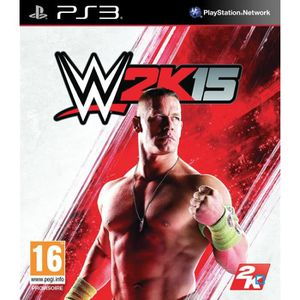 JEU PS3 WWE 2K15 Jeu PS3